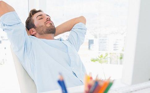 Solution rapide pour se relaxer au bureau